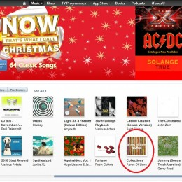 iTunes GB - Acres of Lions - Collections - New & Noteworthy Albums - Music Front Page - 27th November 2012