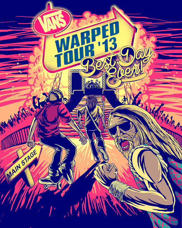 Vans Warped Tour July