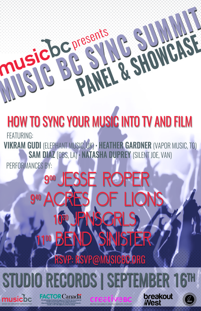 Music BC Sync Summit